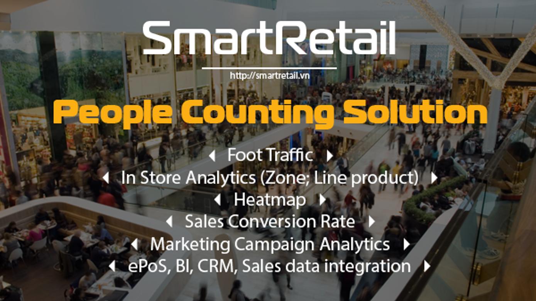 Tổng quan về giải pháp đếm người - SmartRetail - 0935888489